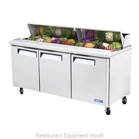 Turbo Air MST-72 Refrigerated Counter, Sandwich / Salad Top