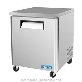 Turbo Air MUF-28 Freezer, Undercounter, Reach-In