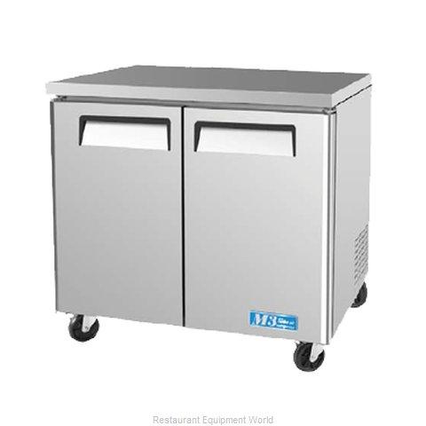 Turbo Air MUF-36 Freezer, Undercounter, Reach-In