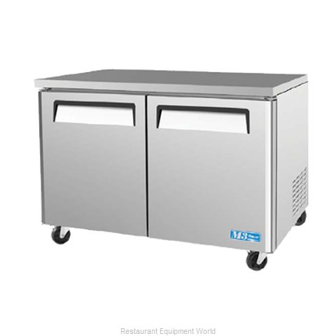 Turbo Air MUF-48 Freezer, Undercounter, Reach-In (Magnified)