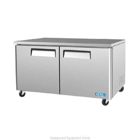 Turbo Air MUF-60-N Freezer, Undercounter, Reach-In