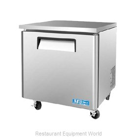 Turbo Air MUR-28L Refrigerator, Undercounter, Reach-In