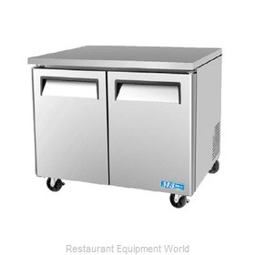 Turbo Air MUR-36L Refrigerator, Undercounter, Reach-In
