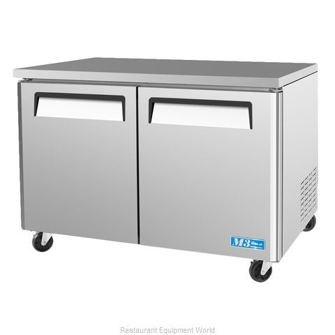 Turbo Air MUR-48 Undercounter Refrigerator (Magnified)