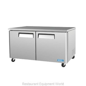 Turbo Air MUR-60 Refrigerator, Undercounter, Reach-In