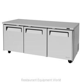 Turbo Air MUR-72-N Refrigerator, Undercounter, Reach-In