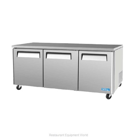 Turbo Air MUR-72 Undercounter Refrigerator (Magnified)