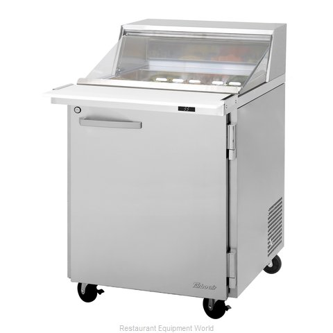 Turbo Air PST-28-12-N-CL Refrigerated Counter, Mega Top Sandwich / Salad Unit