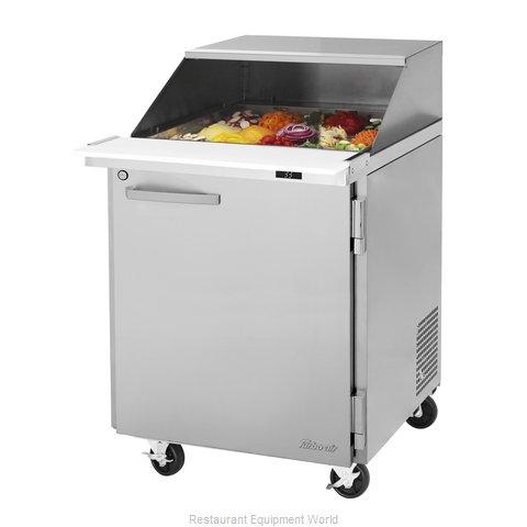 Turbo Air PST-28-12-N-SL Refrigerated Counter, Mega Top Sandwich / Salad Unit