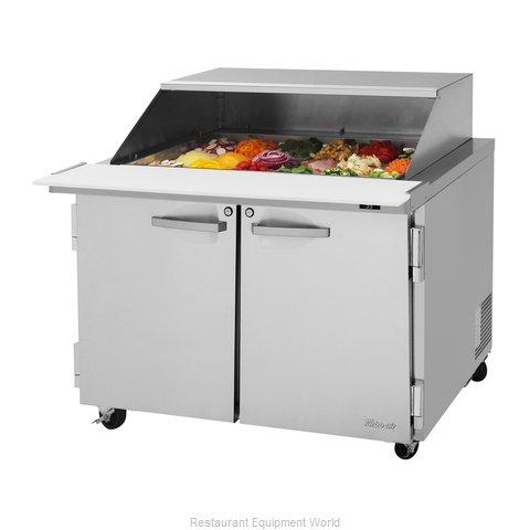 Turbo Air PST-48-18-N-SL Refrigerated Counter, Mega Top Sandwich / Salad Unit