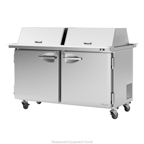 Turbo Air PST-60-24-N-DS Refrigerated Counter, Mega Top Sandwich / Salad Unit