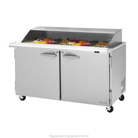 Turbo Air PST-60-24-N-SL Refrigerated Counter, Mega Top Sandwich / Salad Unit