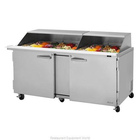 Turbo Air PST-72-30-N-SL Refrigerated Counter, Mega Top Sandwich / Salad Unit