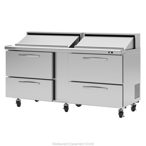 Turbo Air PST-72-D4-N Refrigerated Counter, Sandwich / Salad Unit