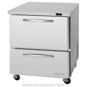 Turbo Air PUF-28-D2-N Freezer, Undercounter, Reach-In