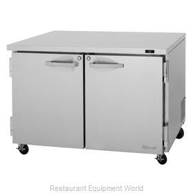 Turbo Air PUR-48-N Refrigerator, Undercounter, Reach-In