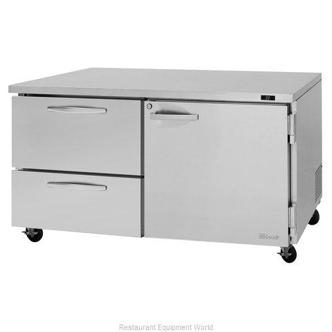 Turbo Air PUR-60-D2R(L)-N Refrigerator, Undercounter, Reach-In