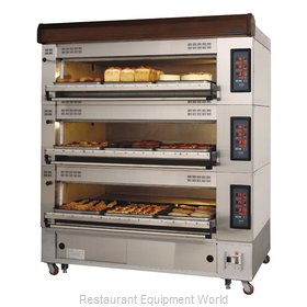 Turbo Air RBDO-43 Oven, Deck-Type, Electric