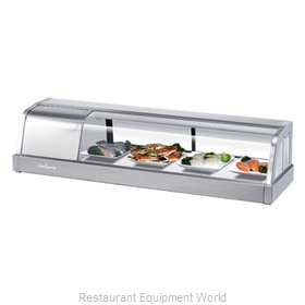 Turbo Air SAKURA-50-L Display Case, Refrigerated Sushi