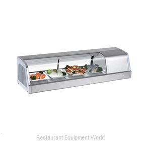 Turbo Air SAKURA-50-R Display Case, Refrigerated Sushi