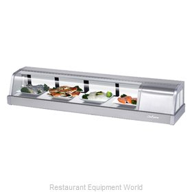 Turbo Air SAKURA-60-R Display Case, Refrigerated Sushi