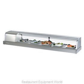 Turbo Air SAKURA-70-L Display Case, Refrigerated Sushi