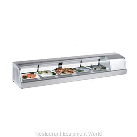 Turbo Air SAKURA-70-R Display Case, Refrigerated Sushi