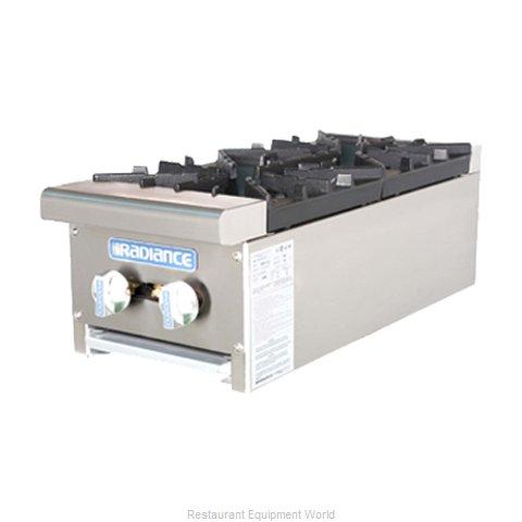 Turbo Air TAHP-12-2 Hotplate, Countertop, Gas