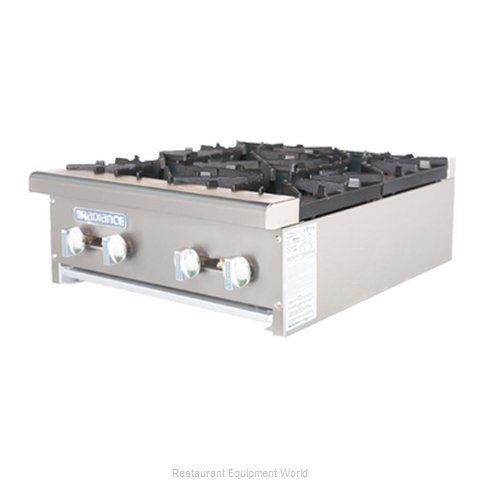 Turbo Air TAHP-24-4 Hotplate Counter Unit Gas