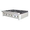 Turbo Air TAHP-36-6 Hotplate Counter Unit Gas