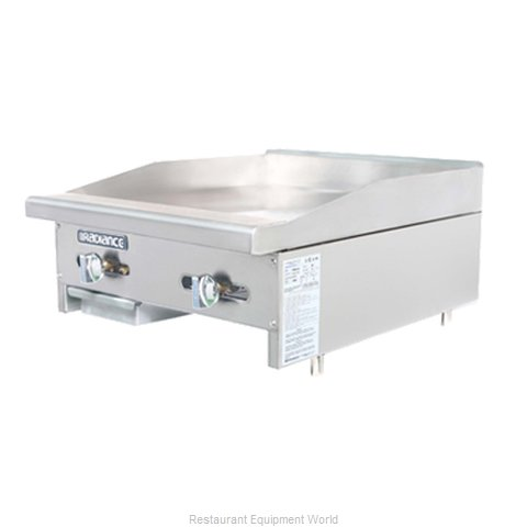 Turbo Air TAMG-24 Griddle, Gas, Countertop