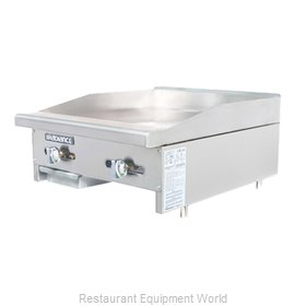 Turbo Air TAMG-24 Griddle Counter Unit Gas