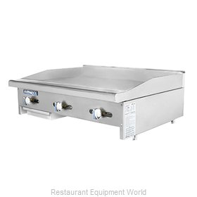 Turbo Air TAMG-36 Griddle Counter Unit Gas