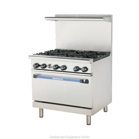 Turbo Air TAR-6 Range 36 6 open burners
