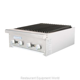 Turbo Air TARB-24 Charbroiler, Gas, Countertop