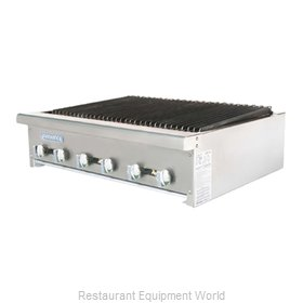 Turbo Air TARB-36 Charbroiler Gas Counter Model