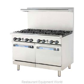 Turbo Air TARG-24G4B Range 48 4 Open Burners 24 griddle