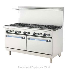 Turbo Air TARG-36G4B Range 60 4 Open Burners 36 Griddle