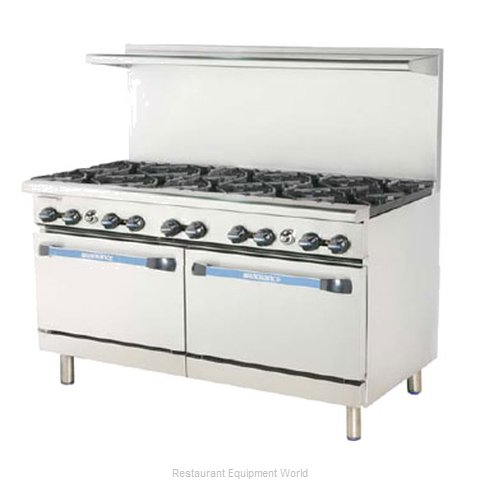 Turbo Air TARG-6B24G Range 60 6 Open Burners 24 Griddle