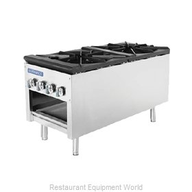 Turbo Air TASP-18-D Range, Stock Pot, Gas