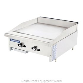Turbo Air TATG-24 Griddle Counter Unit Gas