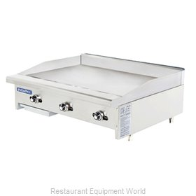 Turbo Air TATG-36 Griddle Counter Unit Gas