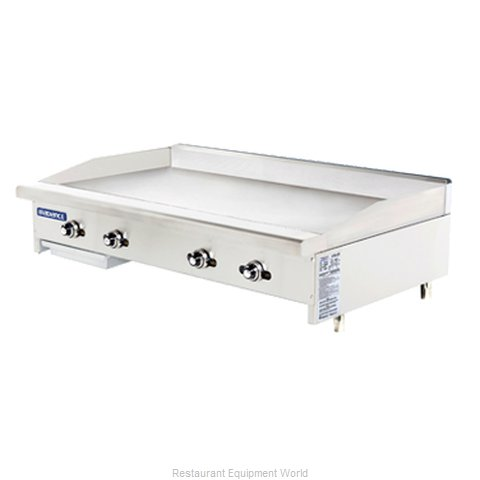 Turbo Air TATG-48 Griddle Counter Unit Gas