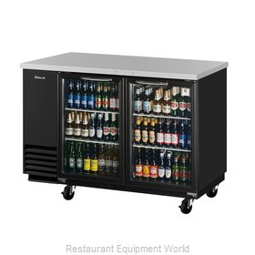 Turbo Air TBB-2SG-N Back Bar Cabinet, Refrigerated