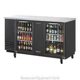 Turbo Air TBB-3SG Back Bar Cabinet, Refrigerated