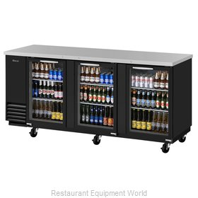 Turbo Air TBB-4SG-N Back Bar Cabinet, Refrigerated