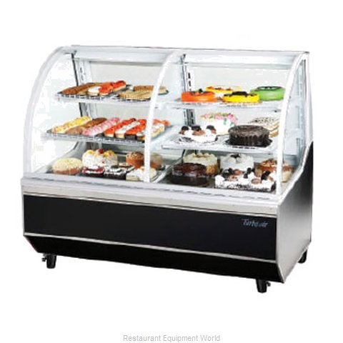 Turbo Air TCB-5R Display Case Refrigerated Non-Refrig