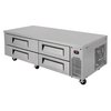 Turbo Air TCBE-72SDR-N Equipment Stand, Refrigerated Base