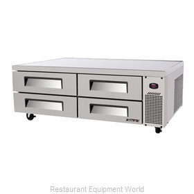 Turbo Air TCBE-72SDR Refrigerated Counter, Griddle Stand