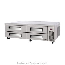 Turbo Air TCBE-82SDR Equipment Stand, Refrigerated Base